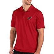 Antigua Men's Arizona Cardinals Balance Red Polo