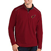 Antigua Men's Arizona Cardinals Glacier Red Quarter-Zip Pullover