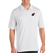 Antigua Men's Arizona Cardinals Quest White Polo