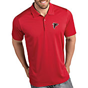 Antigua Men's Atlanta Falcons Tribute Red Polo