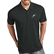 Antigua Men's Philadelphia Eagles Tribute Grey Polo