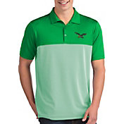 Antigua Men's Philadelphia Eagles Venture Green Performance Polo