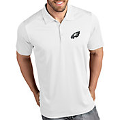 Antigua Men's Philadelphia Eagles Tribute White Polo