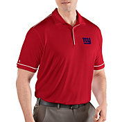 Antigua Men's New York Giants Salute Red Polo