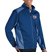 Antigua Men's New York Giants Revolve Blue Full-Zip Jacket
