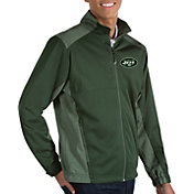 Antigua Men's New York Jets Revolve Green Full-Zip Jacket