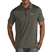 Antigua Men's New York Jets Quest Steel Polo