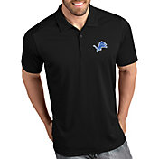 Antigua Men's Detroit Lions Tribute Black Polo