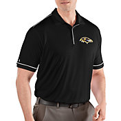 Antigua Men's Baltimore Ravens Salute Black Polo