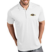 Antigua Men's Baltimore Ravens Tribute White Polo