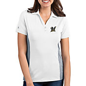 Antigua Women's Milwaukee Brewers Venture White Performance Polo