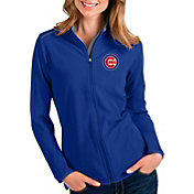 Antigua Women's Chicago Cubs Royal Glacier Full-Zip Jacket
