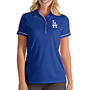Antigua Women's Los Angeles Dodgers Salute Royal Performance Polo