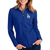 Antigua Women's Los Angeles Dodgers Royal Glacier Full-Zip Jacket