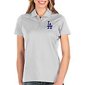 Antigua Women's Los Angeles Dodgers White Balance Polo