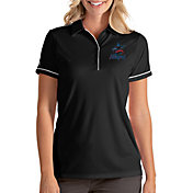 Antigua Women's Miami Marlins Salute Black Performance Polo