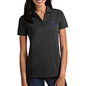 Antigua Women's Miami Marlins Tribute Grey Performance Polo