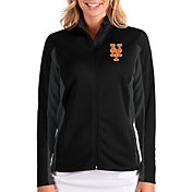 Antigua Women's New York Mets Black Passage Full-Zip Jacket