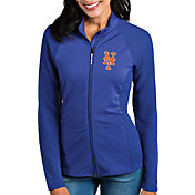 Antigua Women's New York Mets Royal Sonar Performance Quarter-Zip Pullover