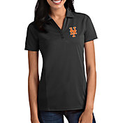 Antigua Women's New York Mets Tribute Grey Performance Polo