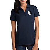 Antigua Women's San Diego Padres Tribute Navy Performance Polo