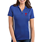 Antigua Women's Philadelphia Phillies Venture Royal Performance Polo