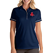 Antigua Women's Boston Red Sox Salute Navy Performance Polo