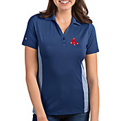 Antigua Women's Boston Red Sox Venture Navy Performance Polo