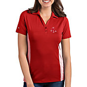 Antigua Women's Boston Red Sox Venture Red Performance Polo