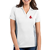 Antigua Women's Boston Red Sox Venture White Performance Polo