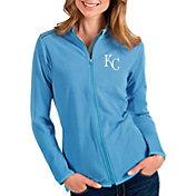 Antigua Women's Kansas City Royals Royal Glacier Full-Zip Jacket