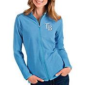 Antigua Women's Tampa Bay Rays Royal Glacier Full-Zip Jacket