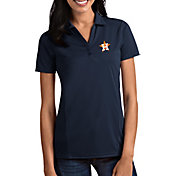 Antigua Women's Houston Astros Tribute Navy Performance Polo