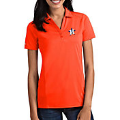 Antigua Women's Houston Astros Tribute Orange Performance Polo