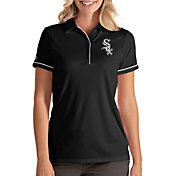 Antigua Women's Chicago White Sox Salute Black Performance Polo