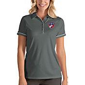 Antigua Women's FC Dallas Salute Grey Polo