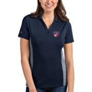 Antigua Women's FC Dallas Venture Navy Polo