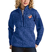 Antigua Women's FC Cincinnati Fortune Royal Quarter-Zip Pullover