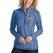 Antigua Women's FC Cincinnati Tempo Royal Quarter-Zip Pullover
