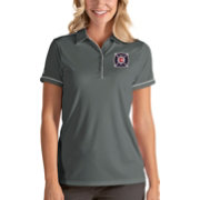 Antigua Women's Chicago Fire Salute Grey Polo