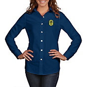 Antigua Women's Nashville SC Dynasty Navy Long Sleeve Shirt