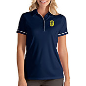 Antigua Women's Nashville SC Salute Navy Polo