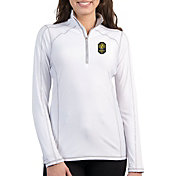 Antigua Women's Nashville SC Tempo White Quarter-Zip Pullover