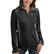 Antigua Women's D.C. United Revolve Black Full-Zip Jacket
