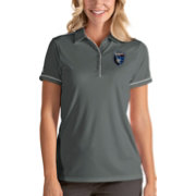 Antigua Women's San Jose Earthquakes Salute Grey Polo