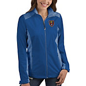 Antigua Women's Real Salt Lake Revolve Royal Full-Zip Jacket