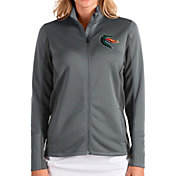 Antigua Women's UAB Blazers Grey Passage Full-Zip Jacket