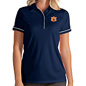 Antigua Women's Auburn Tigers Blue Salute Performance Polo