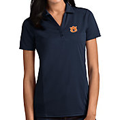 Antigua Women's Auburn Tigers Blue Tribute Performance Polo