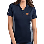 Antigua Women's Auburn Tigers Blue Venture Polo
